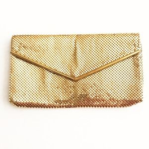 Vintage Small Gold Chain Clutch